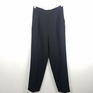 Max Mara Wool High Waist Pleated Dress Pants